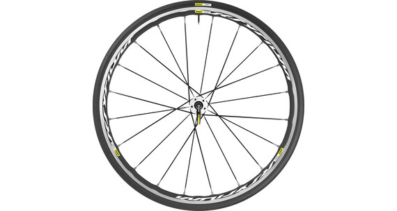 Mavic Ksyrium Elite HR 25 Shimano M10 black/white